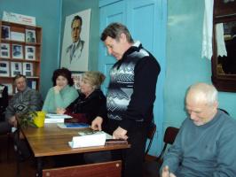 В Кандауровской сельской библиотеке