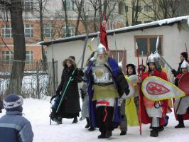 День Богатыря. Войско Черномора уготовилось на брань )