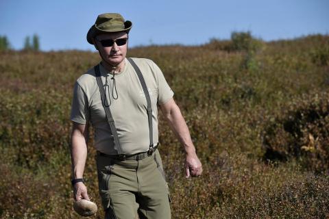 Сибирские каникулы Владимира Путина