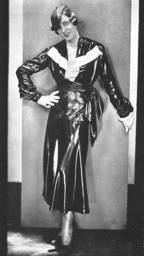 Шёлковое платье и 1930 год