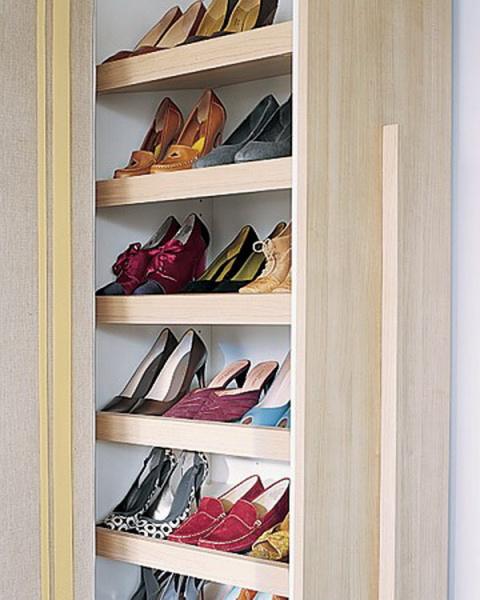 Компактная обувница своими руками 100