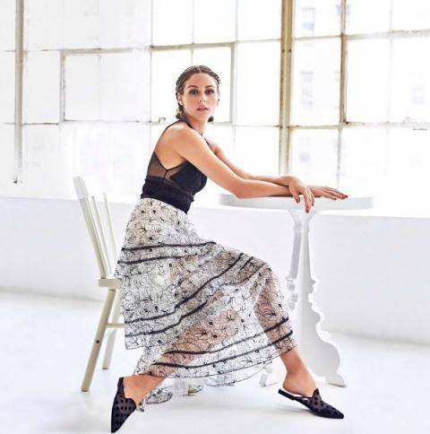 Оливия Палермо для Pretty Ballerinas Spring 2018