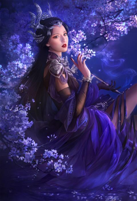Художник-иллюстратор из Шанхая Da Congjun