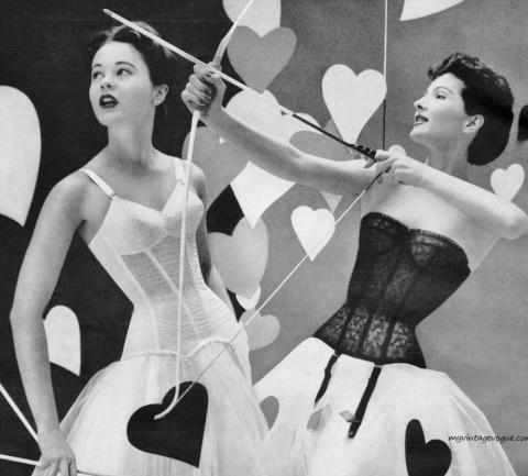 Красотки на фотографиях модных журналов