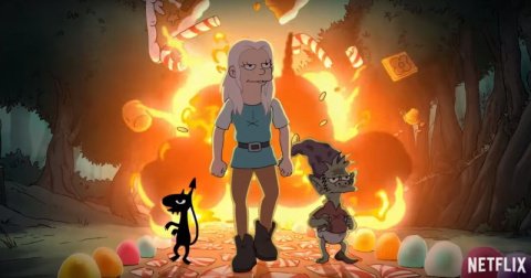 Вышел трейлер нового мультсериала о принцессе-алкоголичке от создателя «Симпсонов»