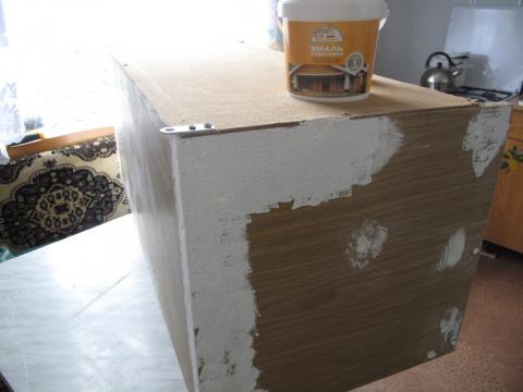 Чем покрасить старый шкаф своими руками