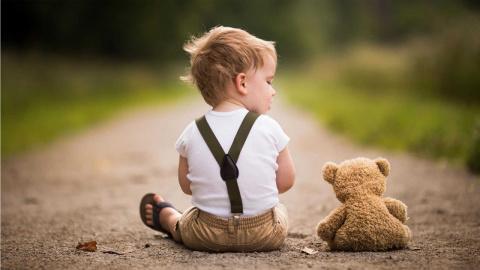 трогательные дети