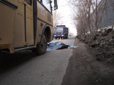 В Челябинске маршрутка насмерть сбила пешехода (ФОТО)