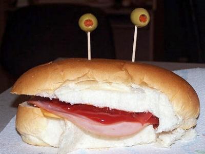Бутерброд? Сендвич? Крабик?