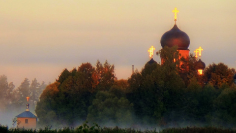 Островной женский монастырь
