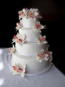 Свадебный с орхидеями