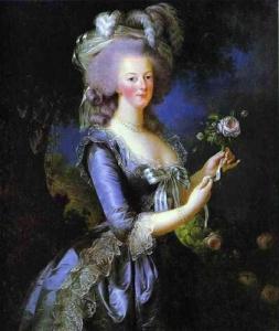 Мария Антуанетта (Луиза-Елизавета Виже-Лебрен, конец XVIII века)