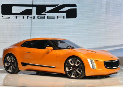 спорткупе Kia GT4 Stinger