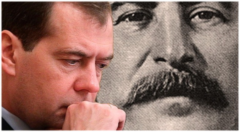 Два антипода (Сталин и Медведев)