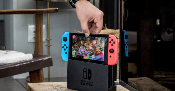 Хакер взломал консоль Nintendo Switch