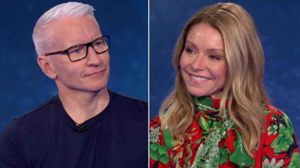 Here's how Kelly Ripa helps Anderson to not cry during CNN Heroes