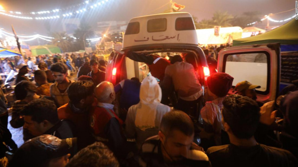 12 protesters killed in Baghdad as cleric warns against 'foreign interference'