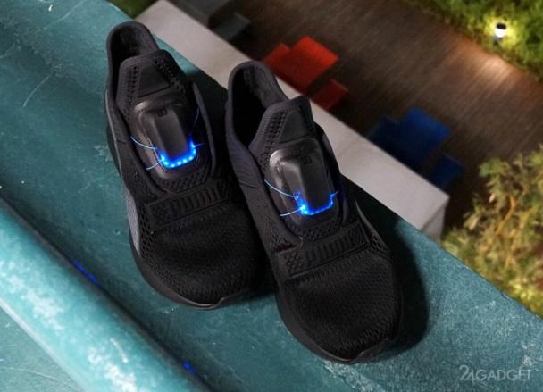 9193f593d Puma выпустила свою версию самозашнуровывающихся кроссовок