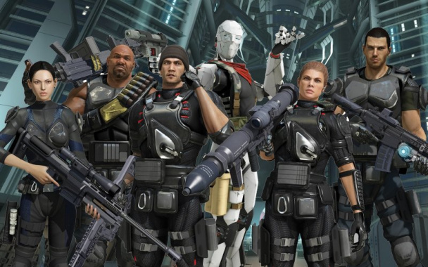 Binary Domain за 1 доллар в последнем Humble Bundle.