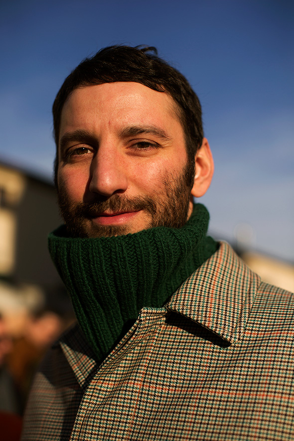 On the Street…Winter Sun, Milan