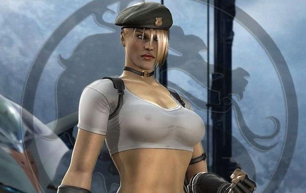 Сексуальные девушки в кампюторных играх