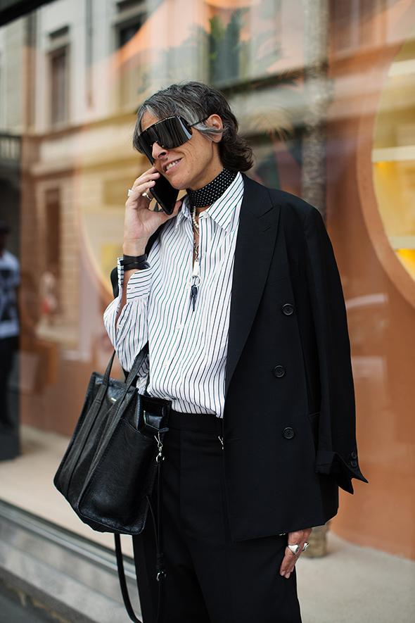 On the Street…Anna, Milan (of course)