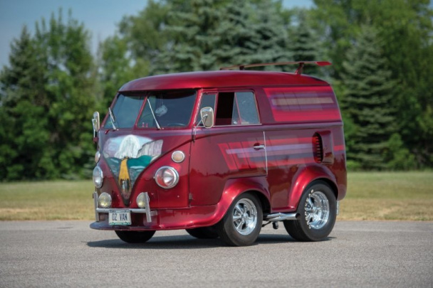 "Volkswagen ""Shorty"" Microbus Custom 1963 года от Bill Jelinek"