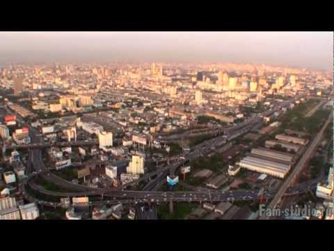 Бангкок - панорама города с Байок Скай (клип)