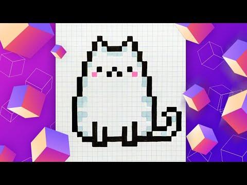 Как Нарисовать Кота по Клето…