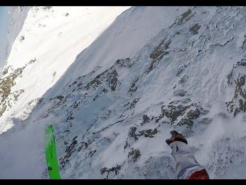 Лыжник снял на видео собстве…