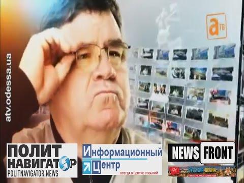 Одесский телеведущий: Сколько вам повторять, идиотам? Одесса – русский город