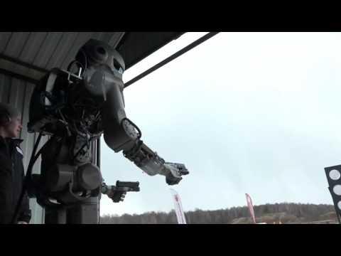 Российский робот напугал зап…