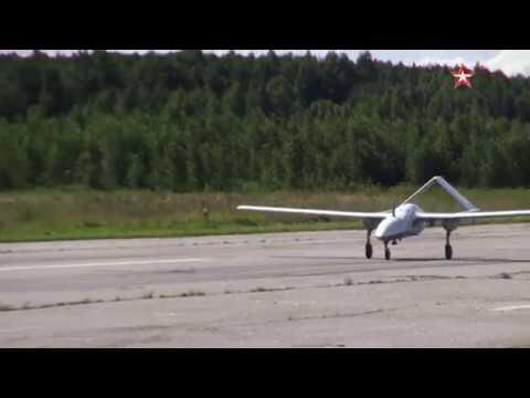 Кадры испытаний новейшего беспилотника «Корсар»