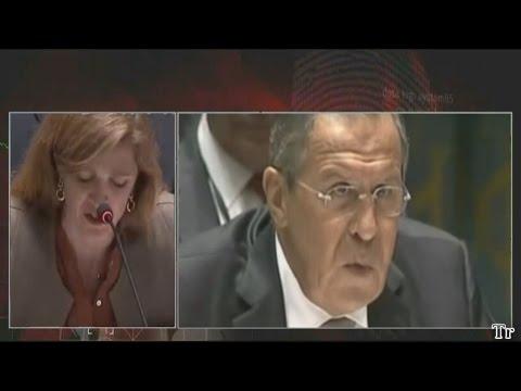 Видео: Лавров разнес Саманту Пауэр в пух и прах.