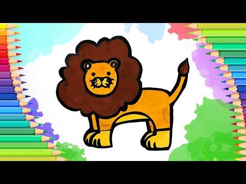 Как нарисовать льва l Просты…
