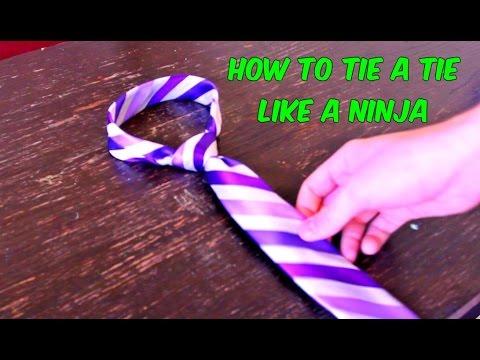 Как завязать галстук за 10 с…