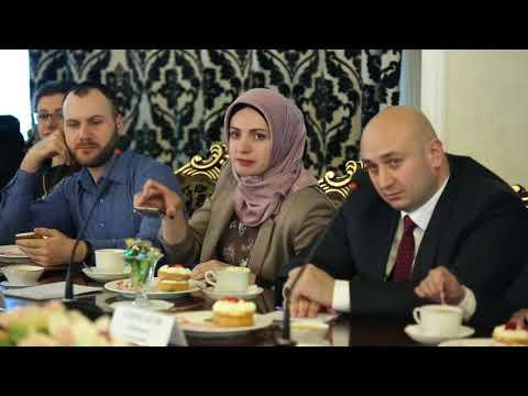 Встреча главы республики Ингушетия Юнус-Бека Евкурова с участниками форума «BlogING-2018»