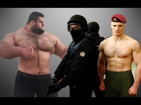 Боец Спецназа вырубил Мощног…