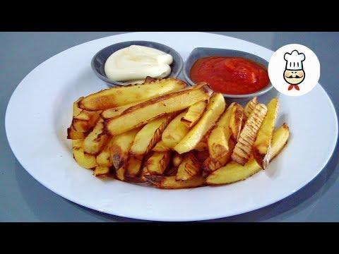 Картофель «ЛОЖНЫЙ ФРИ» в духовке!