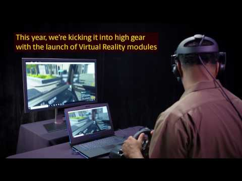 Как водители тренируются в виртуальной реальности