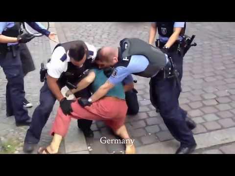Как полицейские разных стран…