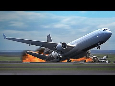 9 крушений самолетов, снятые…