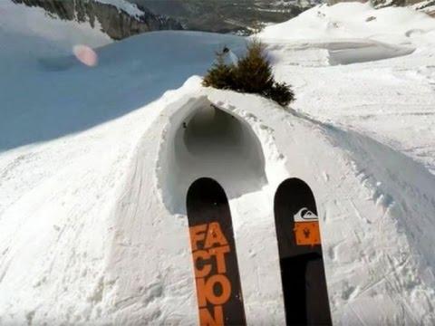 Один день глазами безумного лыжника