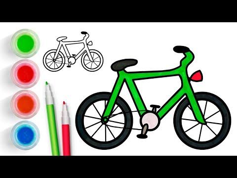 Велосипед - рисовать рисунок…