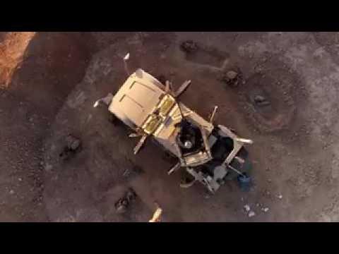 Глянец, огонь и пыль: американские гаубицы «M777-A2» ведут огонь по Ракке
