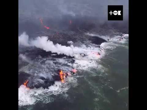 Две стихии - огонь и вода.