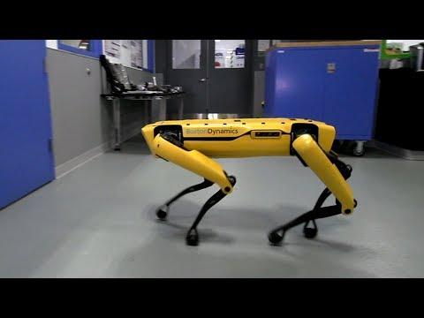 Роботы Бостон Дайнемикс клас…