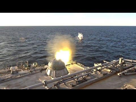 Испытания большого десантного корабля «Иван Грен» в Балтийске