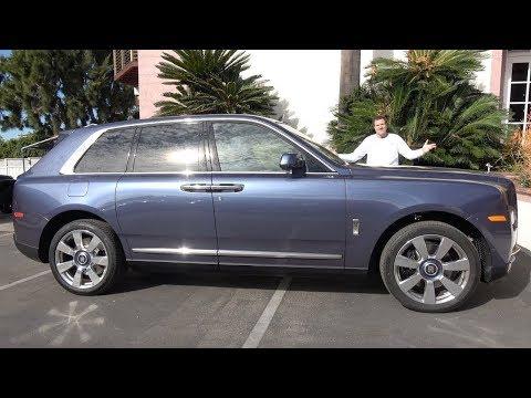 Rolls-Royce Cullinan за $400 000 - это самый потрясающий люксовый внедорожник