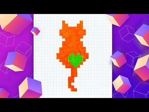 Как нарисовать рыжего кота п…